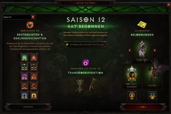 Season 11 Ende und Season 12 Start-Termin