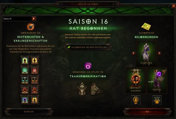 Diablo 3 Season 16