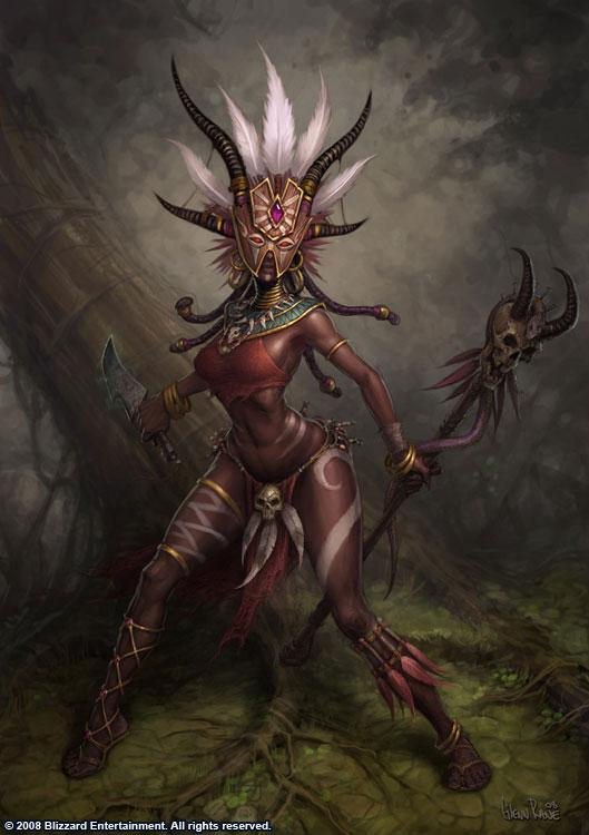 Diablo 3 Female Witch Doctor